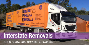 Interstate Removals Gold Coast